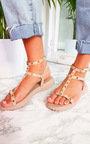 Vinnie Studded Chunky Sole Sandals Thumbnail