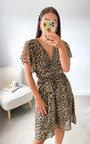 Violet Wrap Dress Thumbnail