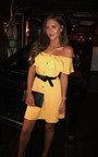 Vivi Off Shoulder Button Up Dress Thumbnail