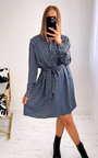 Willow Belted Printed Shirt Dress Thumbnail