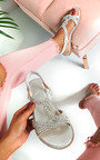 Willow Diamante Embellished Sandals Thumbnail
