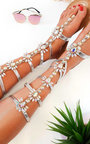 Willow Embellished Gladiator Sandals Thumbnail