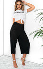 Willow Ribbed Culotte Trousers Thumbnail