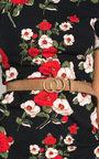 Winnie Double Circle Buckle Belt Thumbnail