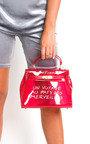 Xanthe Clear Slogan Handbag Thumbnail
