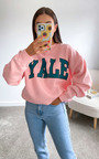 Yale Slogan Sweatshirt Thumbnail