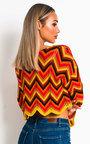Yani Crochet Knitted Aztec Top  Thumbnail