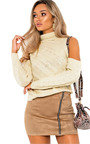 Yasmin Knitted Cut Out Jumper Thumbnail