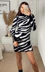Yasmin Printed High Neck Dress Thumbnail