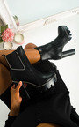 Yaz Block Heel Boots Thumbnail