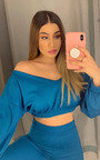 Yazzi Off Shoulder Lounge Co-ord Thumbnail
