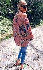 Yazzy Tropical Oversized Shirt  Thumbnail