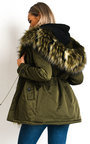 Yuki Padded Hooded Longline Puffer Jacket Thumbnail