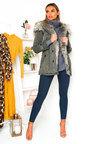 Yuki Padded Hooded Longline Puffer Jacket Thumbnail