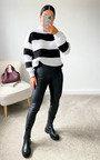 Lauren Striped Knit Jumper Thumbnail