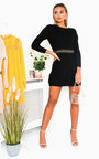 Zaniyah Knitted Jumper Dress Thumbnail