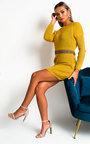 Zaniyah Knitted Jumper Dress Thumbnail
