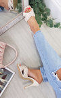 Zara Braided Woven Mule Heels Thumbnail