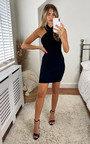 Zara Cross Front Mini Dress Thumbnail