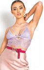 Zara Lace Bralet Top Thumbnail
