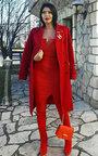 Zara Stretch Thigh High Boots  Thumbnail