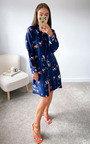 Zaza Printed Shirt Dress Thumbnail
