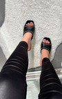 Zeena Chain Detail Heels Thumbnail