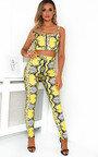Zendaya Snake Print Co-ord Thumbnail