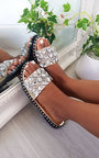 Zina Jewelled Slip On Sandals Thumbnail