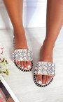 Zina Jewelled Slip On Sandals Thumbnail