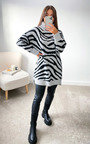 ZiZi High Neck Printed Jumper Dress Thumbnail