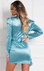 Zoella Satin Mini Dress Thumbnail