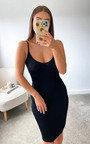 Zuri Knitted Bodycon Midi Dress Thumbnail