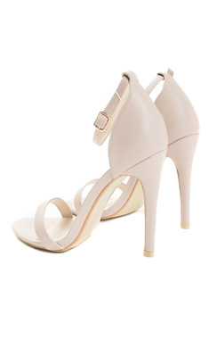View the Koda Faux Leather Stiletto Heels online at iKrush