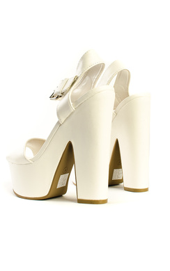 View the Lyra Peep Toe Platform Heels online at iKrush
