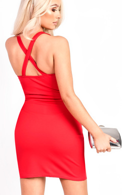 View the Tamara Diamante Split Dress  online at iKrush