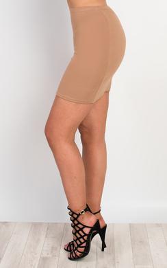 View the Brihanna Basic Mini Skirt online at iKrush