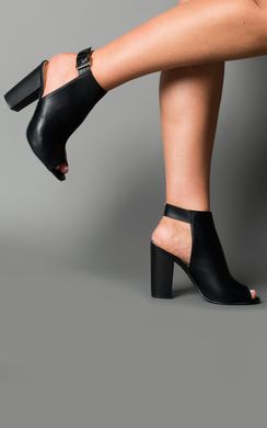 View the Azreal Peep Toe Heels online at iKrush