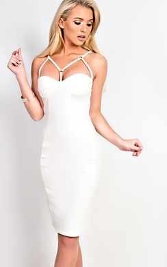 View the Mylah Strappy Bodycon Dress online at iKrush