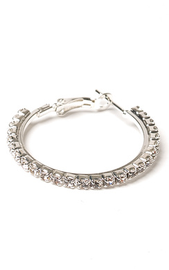 View the Alvaro Diamante Hoop Earrings online at iKrush