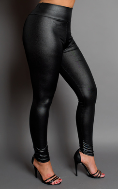 View the Lydia Wet Look Leggings online at iKrush