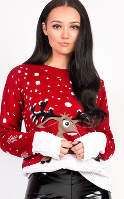View the Noel Oversized Christmas Jumper online at iKrush