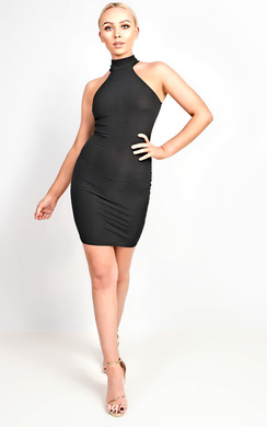 View the Ellie Ribbed Mini Dress online at iKrush