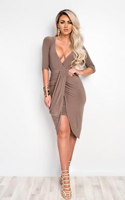 View the Nayara Bodycon Party Dress online at iKrush