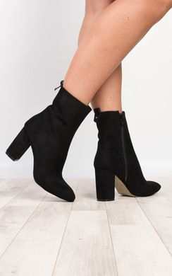 View the Banu Faux Suede Boots online at iKrush