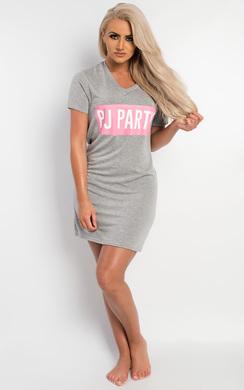 View the Ottilie Slogan Pyjama Top online at iKrush