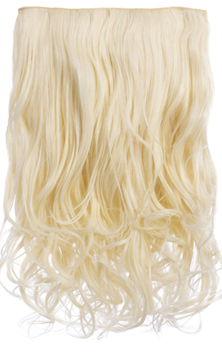 View the Intense Volume Clip In Hair Extensions - Curly Pure Blonde online at iKrush