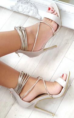 View the Anastasia Strappy High Heels online at iKrush
