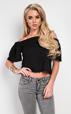 View the Alby Stretch Crop Top  online at iKrush