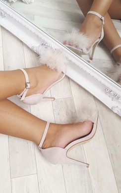 View the Lillz Fluffy High Heels  online at iKrush